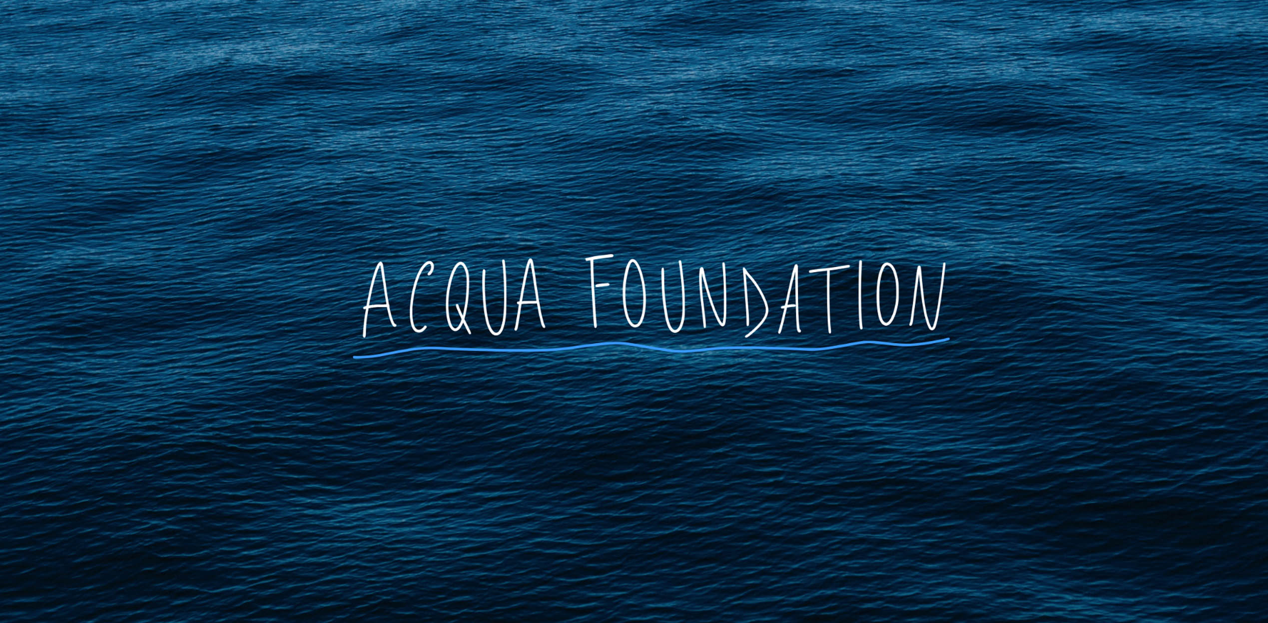 Acqua Foundation Press Release CANNES 2019 ENG